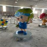 形象卡通雕塑 韶关卡通熊猫雕塑方法步骤