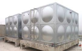 不锈钢焊接水箱采用304不锈钢材质模压而成