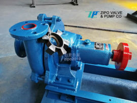 自贡自泵3ZPN卧式耐单级单吸泥浆泵及桩基配件泵