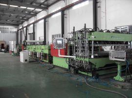 PC/PP/PE/PVC中空格子板挤出生产线