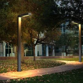 高杆灯户外防水现代草坪灯景观花园道路高杆别墅庭院灯