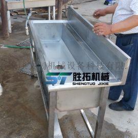 支持定制不锈钢双槽单槽洗手池感应式洗手池