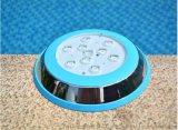 9Wled水底燈 七彩內控 游泳池燈水下壁掛射燈