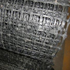 土工格栅玻纤护钢塑塑料筋钢丝