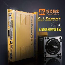 搭配PLC三菱CCLink总线通讯伺服电机FASTECH韩国Ezi-SERVO2-CL-28L-D