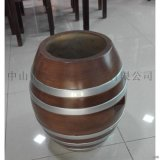 廠家直銷玻璃鋼休閒仿古凳子也可當收物桶