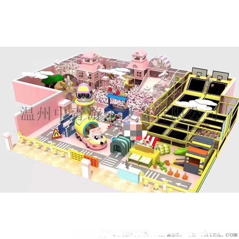 青島室內樂園廠家定製室內樂園淘氣堡設備 歡迎諮詢