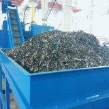 供应带废液挤出功能碎屑压块机