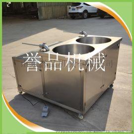 大型食品厂用连续式全自动双管液压灌肠机-灌香肠机
