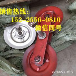煤矿猴车压绳轮175*50单拖轮组 猴车轮衬