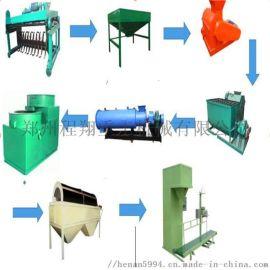 小型有机肥设备生产线发酵步骤方法