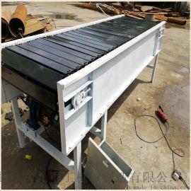 不锈钢输送带图片 链板输送 六九重工 水平式链板输