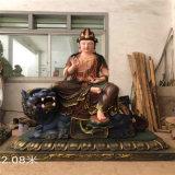 温州铜雕文殊普贤菩萨厂家,木雕普贤菩萨雕刻生产厂家