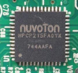 新唐一級代理DSP NPCP215FA0YX