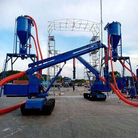 水泥粉清库风力吸料输送机地库粉煤灰搅拌式气力输送机