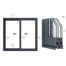 广东兴发铝材创高AL90M14A|B系列隔热推拉门