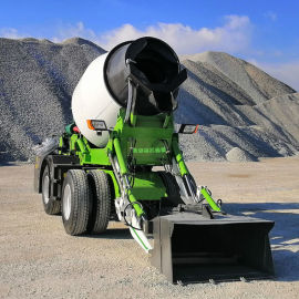 3方混凝土搅拌运输车 水泥搅拌罐车 自上料搅拌车