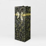 熱銷爆款 黑色高檔單支酒袋 精美禮品紅酒袋 訂製批發紅酒手提袋
