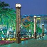 戶外景觀燈草坪庭院燈3米柱頭燈別墅防水方形燈柱