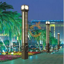 户外景观灯草坪庭院灯3米柱头灯别墅防水方形灯柱