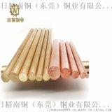 铜棒 H65黄铜棒 H59-1无铅六角铜棒