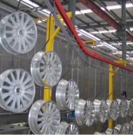 汽车轮毂喷漆线汽车轮毂全自动无尘涂装生产线