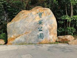 广东景观石 大型景观石黄色景观石厂家 1