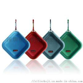 厂家定制 塑料户外迷你蓝牙音箱 便携登山扣蓝牙音箱