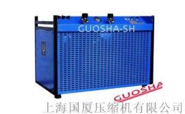 每分钟1.5立方流量350公斤压力大型高压空压机