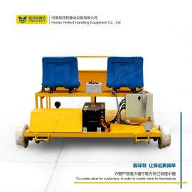 钢轨运输车 轨道检测设备电动平板搬运车 铁轨探伤车