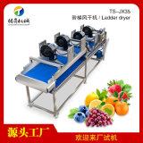 不鏽鋼水果蔬菜階梯風乾機器食品加工設備
