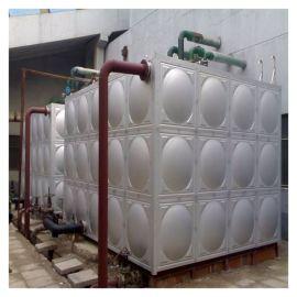 不锈钢水箱 生活冷热水箱 消防水箱尺寸 泽润