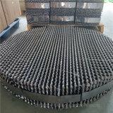 吸收塔250Y孔板波纹填料带防壁流圈金属波纹板填料