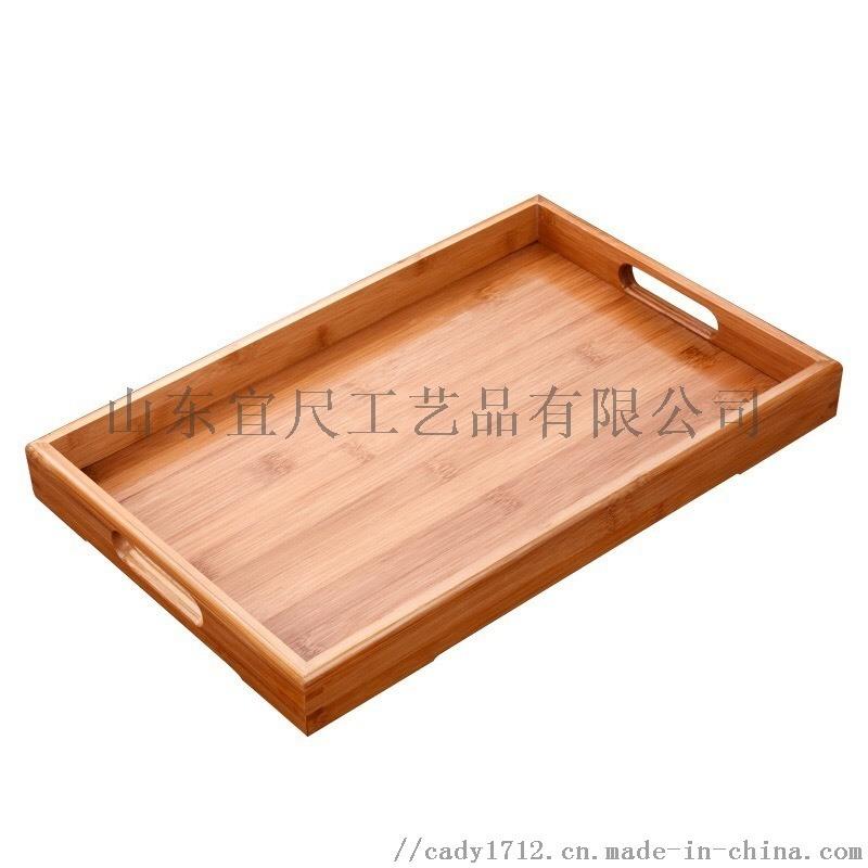 西式木质长方形烘培面包盘