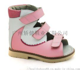 廣州外貿童涼鞋, 高幫矯正鞋,廠家真皮童鞋