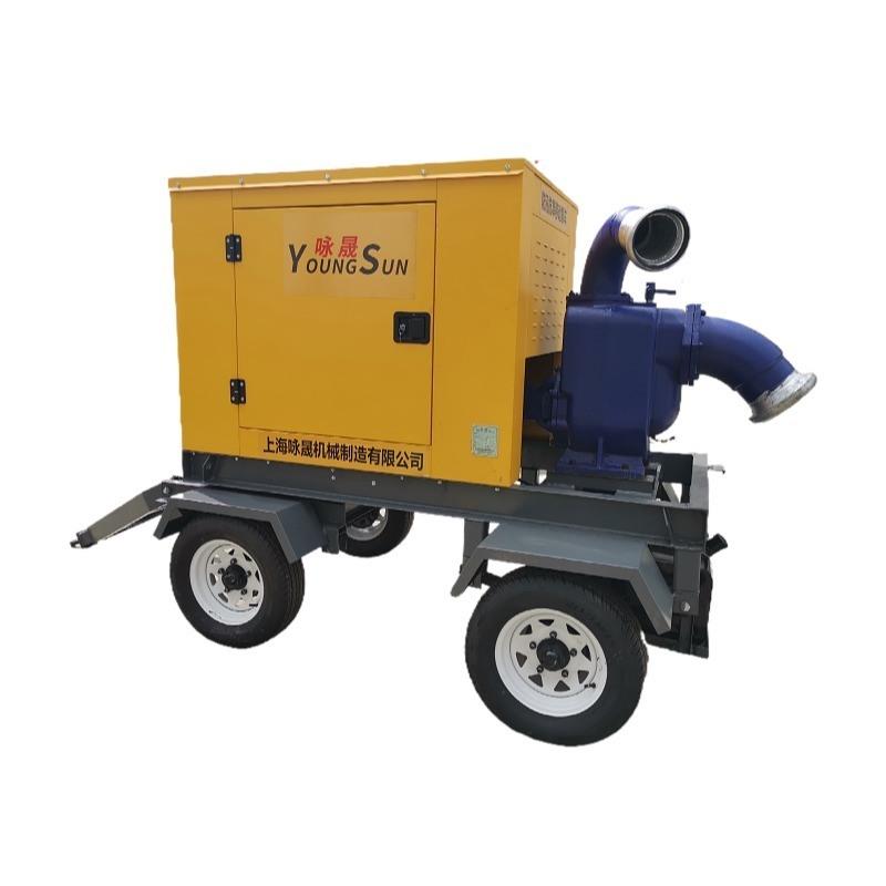 12寸防汛排水柴油水泵 8寸農田灌溉抽水機