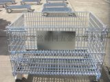 广东 逊然仓储笼厂家,直销折叠仓储笼,带轮仓储笼