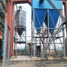 火力电厂粉煤灰 正压气力输送原理 六九重工 微型粉