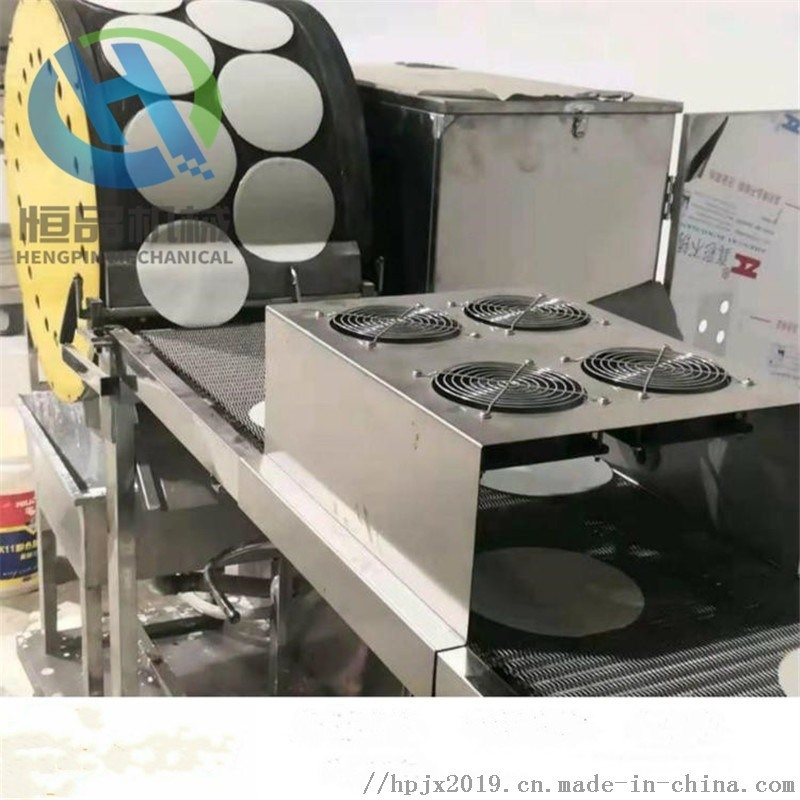 自动控温烤鸭饼机  一次成型蛋皮设备 节能环保