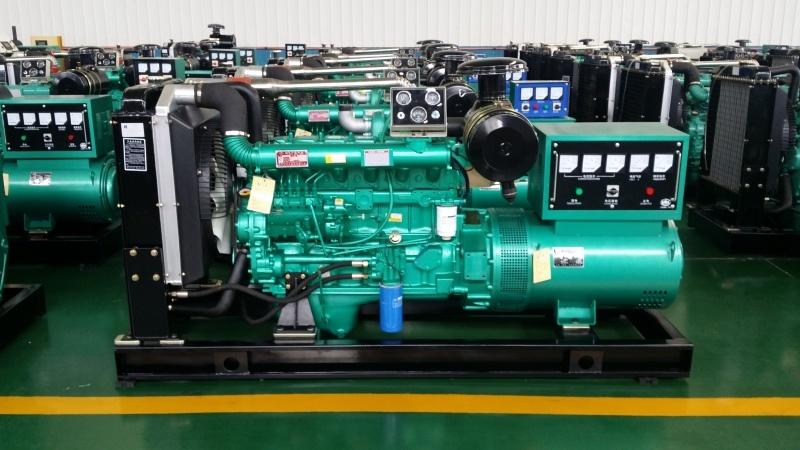 濰坊100kw柴油發電機組柴油機發電機100kw配純銅電機