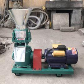 玉米加工颗粒饲料设备, 平模200型颗粒饲料机