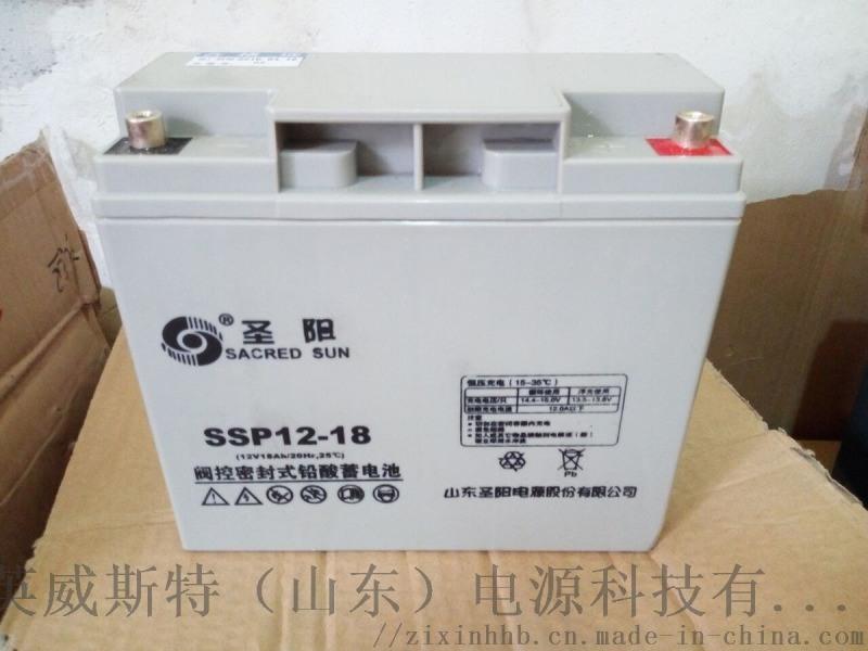 18Ah蓄电池 山东圣阳蓄电池EPS蓄电池18Ah