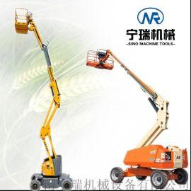 折臂式高空作业车  车载曲臂升降平台