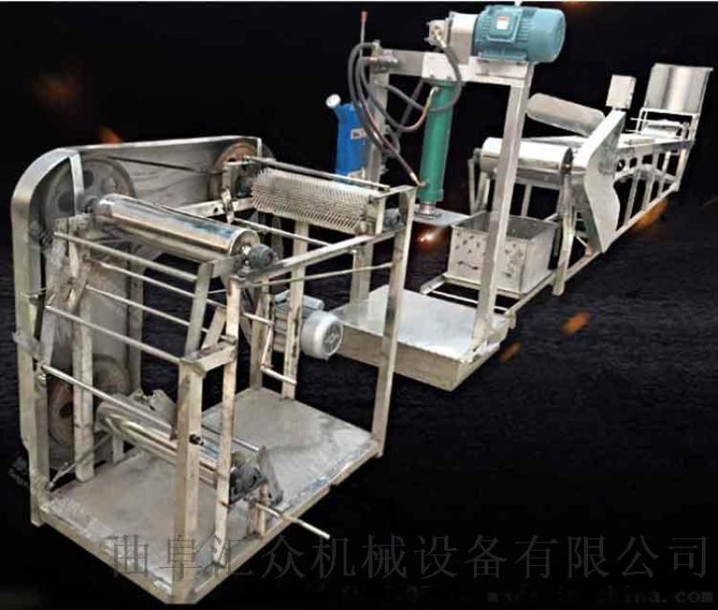 豆製品生產線 豆皮雙剝機 六九重工豆皮切絲機器視頻