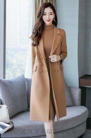 女装服装进货微信尘色秋冬季双面羊绒呢