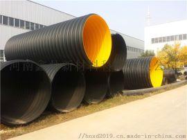 HDPE波纹管、HDPE钢带波纹管DN300