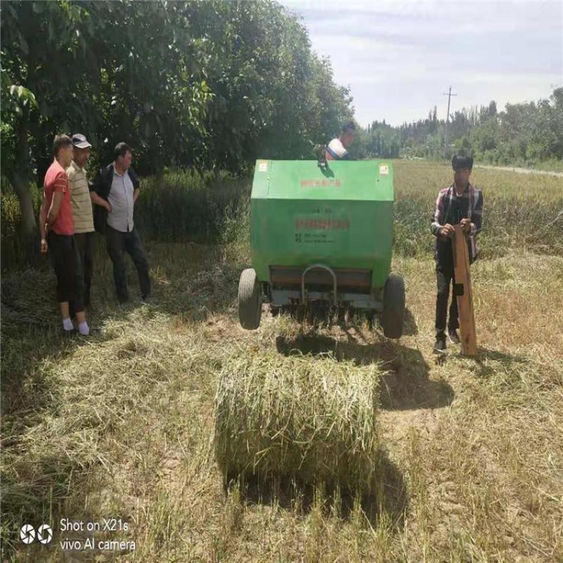 玉米杆捡拾打包机,小麦收割机配套打捆机