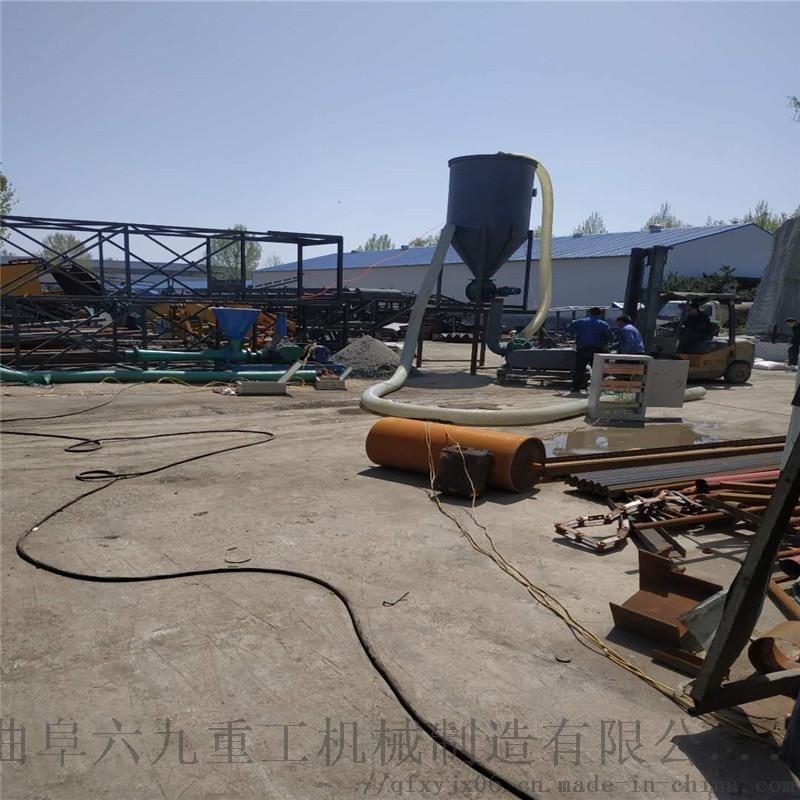 長距離吸灰機 大型鋼板倉粉煤灰出庫系統 六九重工