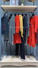 梵凯原创设计师大码女装专柜品牌折扣尾货批一手货源