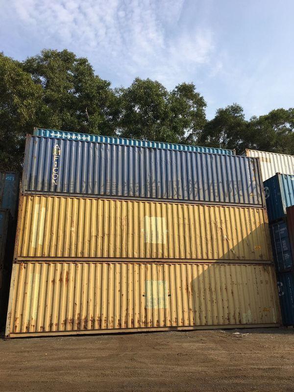 深圳二手集裝箱 40HQ 40尺長度12米加高型集裝箱
